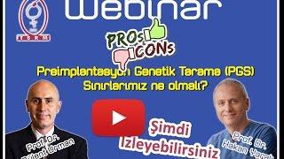 TSRM Webinar Pro&Con  Prof Dr. Hakan Yaralı - Prof Dr. Bülent Urman