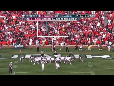 2011 Iron Bowl - #2 Alabama vs. #24 Auburn (HD)