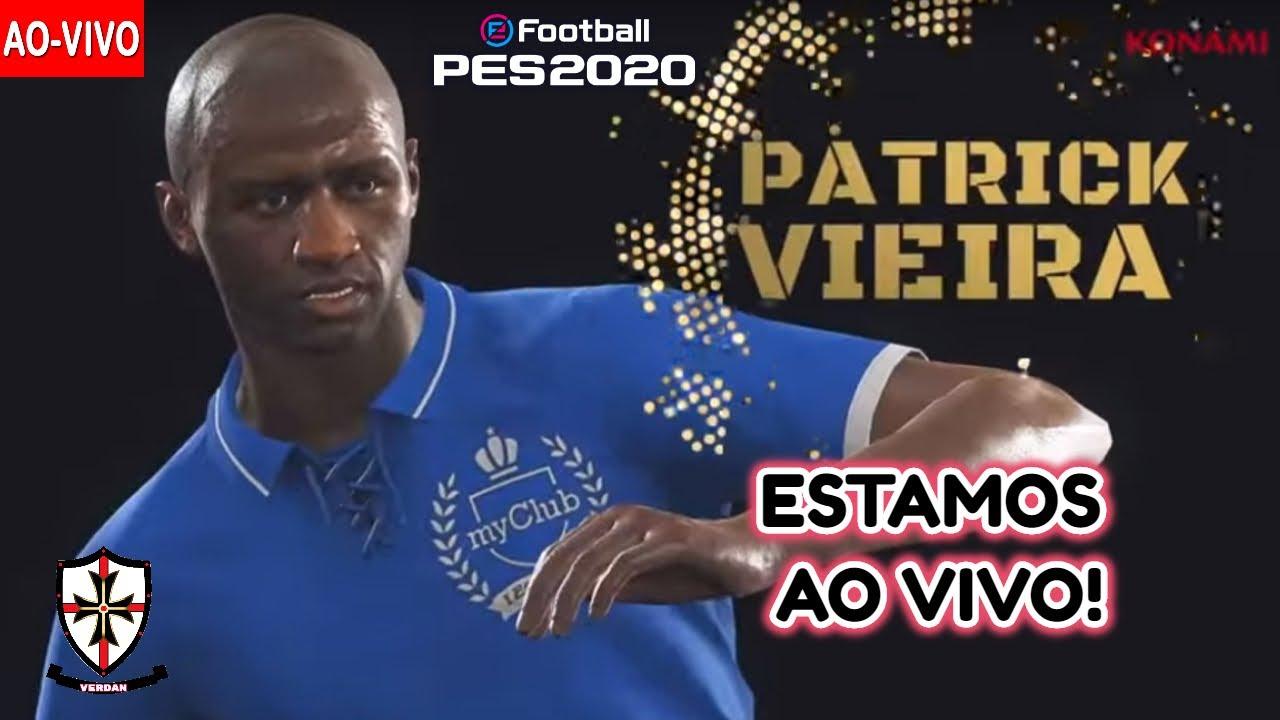 PES 2020! (Ao Vivo) - Patrick Vieira Icon Vem Hoje?  - myCLUB