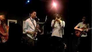 Christian Scott Quintet Live (Isadora) - Jazz at the Bistro