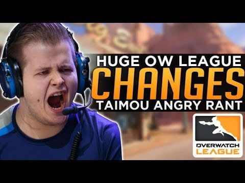 Overwatch: HUGE Changes to OWL - Taimou Angry Rant