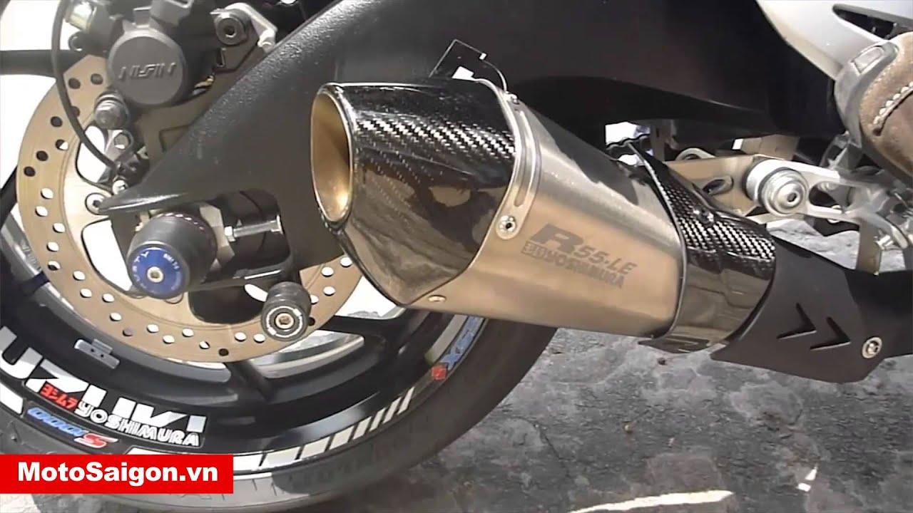 suzuki gsx-s1000 2015 yoshimura r55 le exhaust | motosaigon.vn
