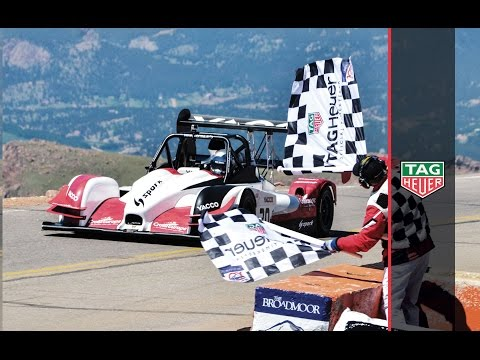 TAG Heuer | Romain Dumas wins Pikes Peak International Hill Climb 2016 (full run)