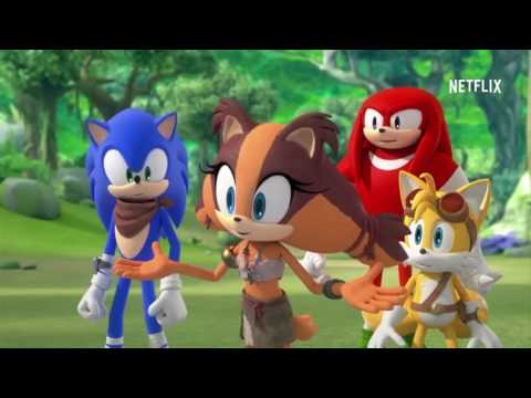 Sonic Boom Japan Netflix Release Trailer Youtube