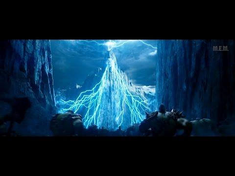 Warcraft (2016) - Blackrock battle [4K]