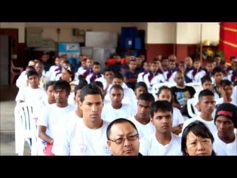 NYAA Mauritius Basic Fire Service Course 2012