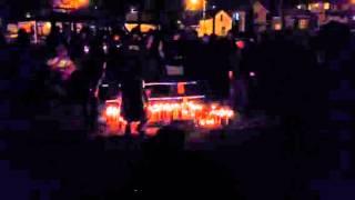 Vigil for Adrian Rojas-Hernandez at Dale Street Park Monday