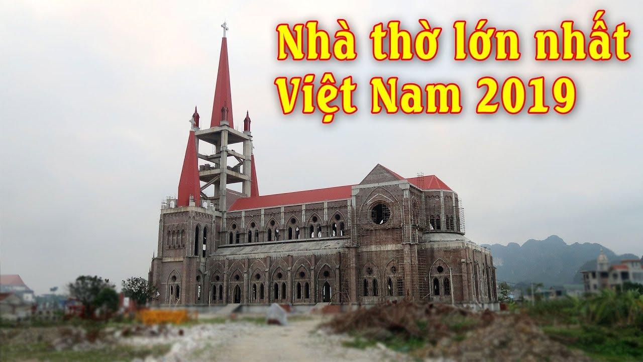 Image result for Nhà thờ lớn nhất Việt Nam và Đông Dương 2019 - Giáo xứ Lãng Vân GP Phát Diệm Ninh Bình