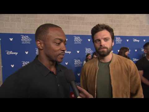 Marvel's Avengers: Infinity War: Anthony Mackie & Sebastian Stan D23 Interview