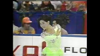 Junko Yaginuma / 八木沼純子 1990 World Figure Skating Championships...