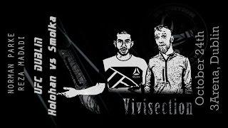The MMA Vivisection - UFC Dublin: Holohan vs. Smolka picks, odds, and anlysis