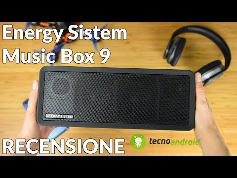 MUSICA Maestro! | RECENSIONE Energy Sistem Music Box 9