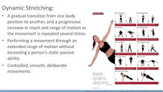 acsm guidelines for flexibility training