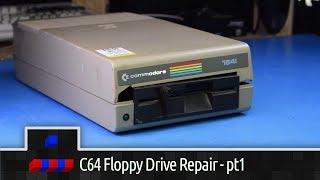 Commodore 1541 Floppy Drive Repair - pt 1