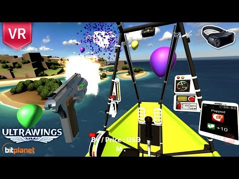 Ultrawings | The ultimate VR flying game comes to GearVR!
