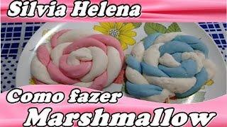 como fazer marshmallow (americano) - POR SILVIA HELENA