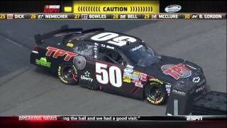 2012 Ford EcoBoost 300 - T.J. Bell Crash