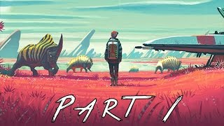 No Man's Sky Walkthrough Gameplay Part 1 - Planets (PS4)