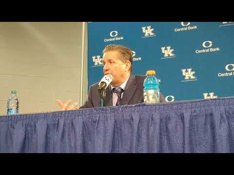 John Calipari Post-Vermont Press Conference