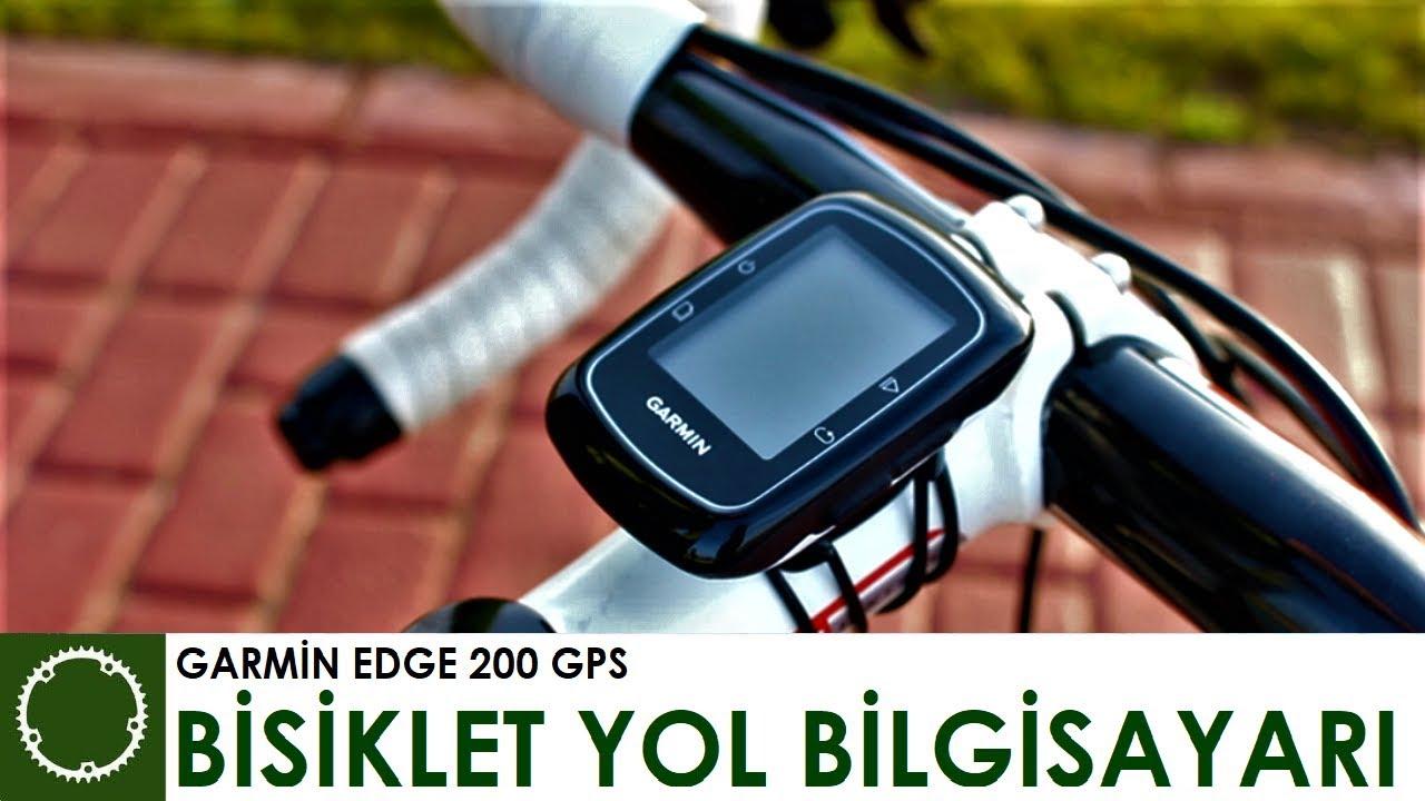 Велообзор: Велокомпьютер Garmin EDGE 200 и работа навигации.