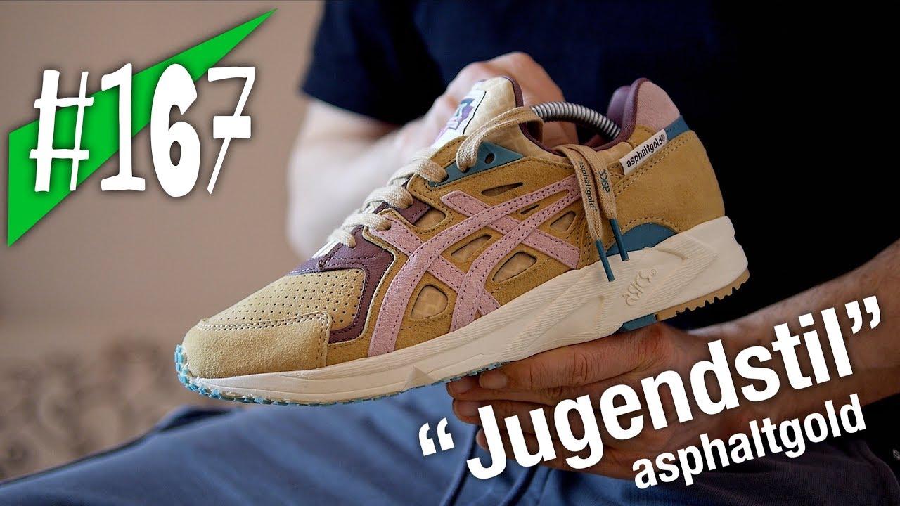 official photos 69c78 3c0d4 ... australia 167 asics x asphaltgold gel ds trainer og jugendstil review  on feet sneakerkult 671bf 3226a