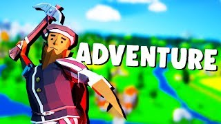 TOTALLY Accurate ADVENTURE SIMULATOR! - Just One Line Gameplay