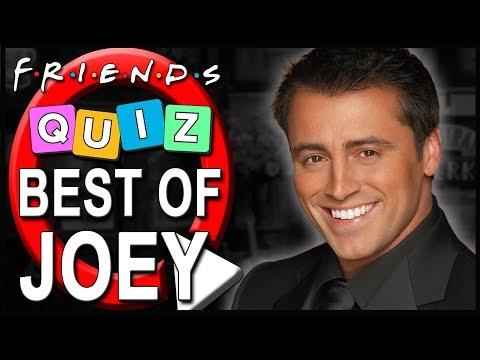 Friends Quiz | How well do you know Joey Tribbiani?