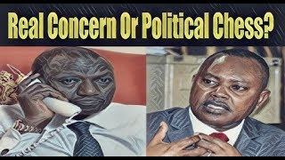 Ruto's Strange Call To DCI: Cry For Help Or Political Games?