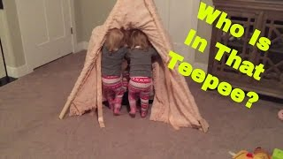 CRAZY QUADS LOVE THE TEEPEE