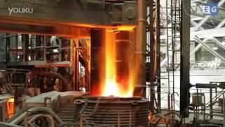 Плавка металла с помощью графитированного электрода(Электроды выпускаются диаметром от 75 до 750 мм. С двух концов электрода выполнены гнезда с цилиндрической..., 2016-07-15T08:11:17.000Z)
