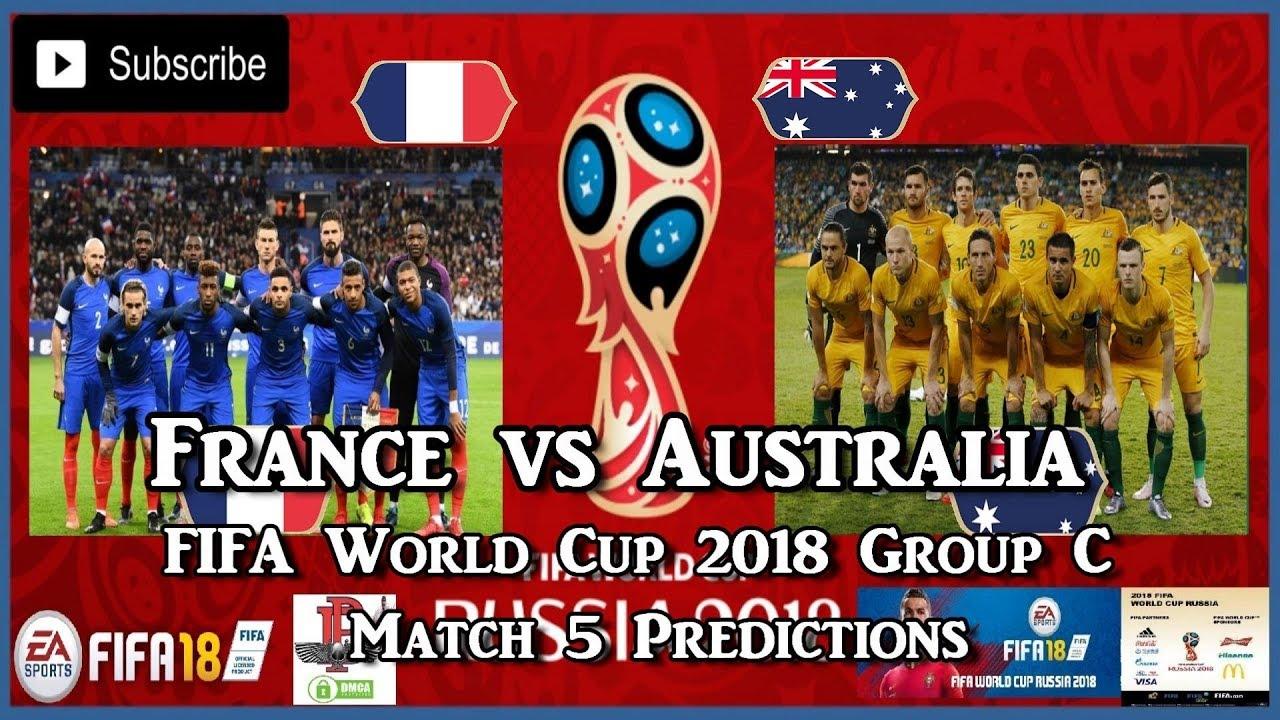 France Australia World Cup