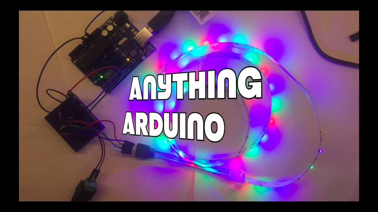 arduino controlled 12 volt rgb led strips using a mosfet anythingarduino controlled 12 volt rgb led strips using a mosfet anything arduino ep 28