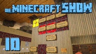 Die Minecraft Show #10 Das BESTE LAGERSYSTEM VOLLAUTOMATISCH Tutorial 1 deutsch HD Lets Show