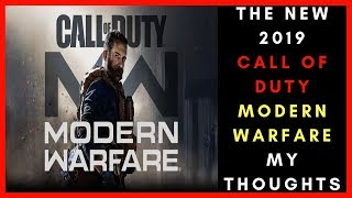 Sooooo About That New Call Of Duty Modern Warfare 2019 Trailer - COD Multiplayer Gameplay BO4