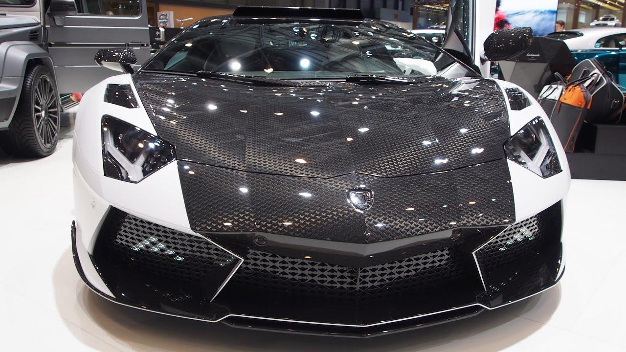 Lamborghini Aventador Lp 700 4 Mansory Carbonado Gt Exterior Walkaround Youtube
