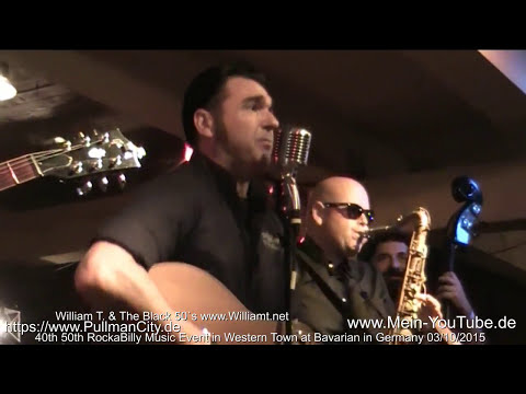 William T -   Rockabilly Convention - Blues Suede Shoes - 2015