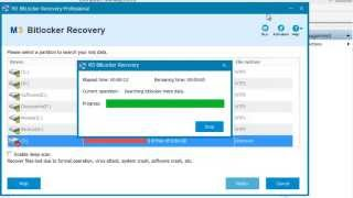 Data recovery from Bitlocker encrypted drive with M3 Bitlocker Recovery