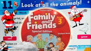 Trọn bộ Family and Friends 3 🐒🐯🐮 Unit 11 : Look at all the animals! | Tiếng anh lớp 3