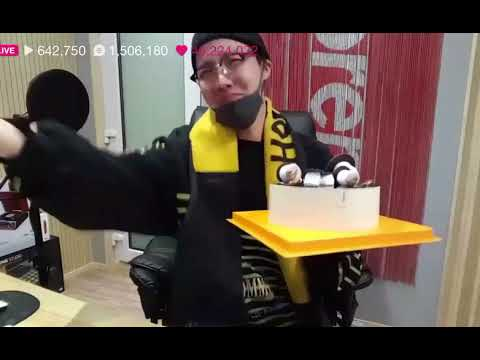 BTS J-HOPE (Hoseok) singing Happy Birthday