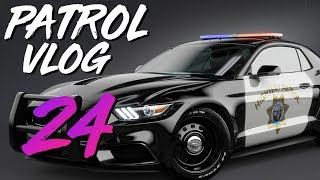 HIT SOMETHING IN MY PATROL CAR. AGAIN (Virtual Ride Along Ep 24)