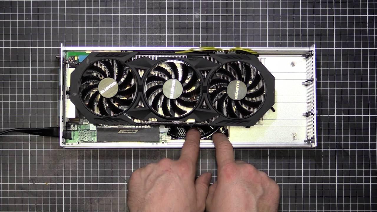 Custom Bplus PE4H v3 2 external GPU (eGPU) adapter – Dell