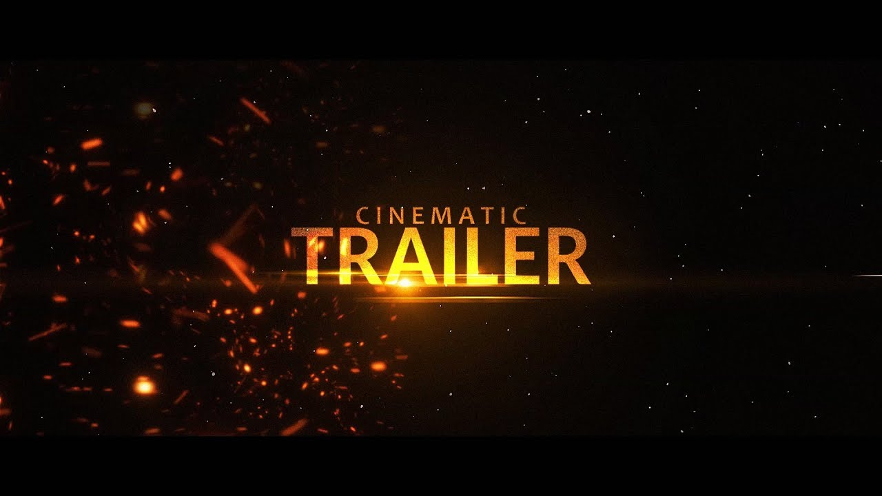 Cinematic Trailer Intro Template 213 Sony Vegas Pro Youtube