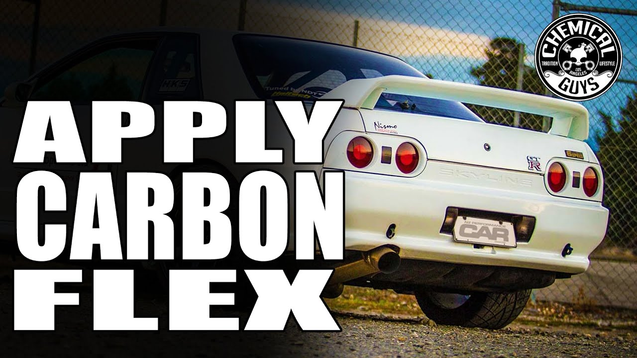 How To Apply Carbon Flex C9 Coating   Nissan Skyline GTR R32   Chemical  Guys   YouTube