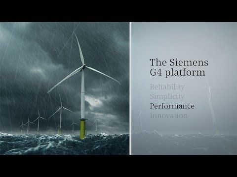 Siemens Wind Power G4 Platform Animation