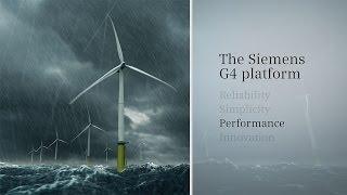 Siemens Wind Power G4 Platform Animation