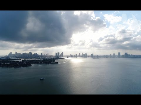 Sea level rise: Miami and Atlantic city fight to stay above water