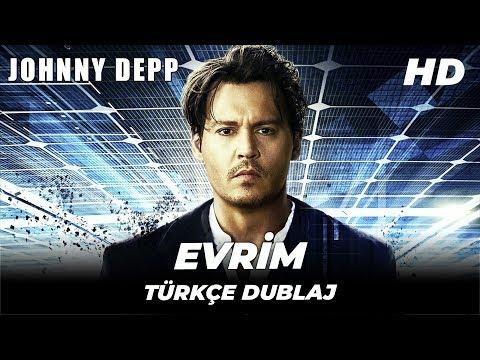 Transcendence (Evrim) | Johnny Depp Türkçe Dublaj Yabancı Aksiyon Filmi | Full Film İzle