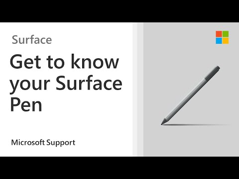 How to use the Surface Pen | Microsoft
