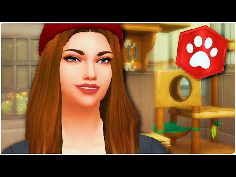 The Sims 4 Cats and Dogs (Part 7) The New Girl