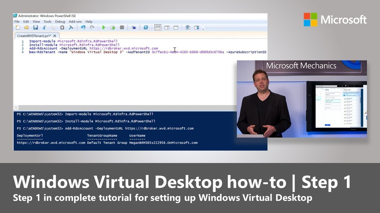 Windows Virtual Desktop how-to | Step 1: Prepare